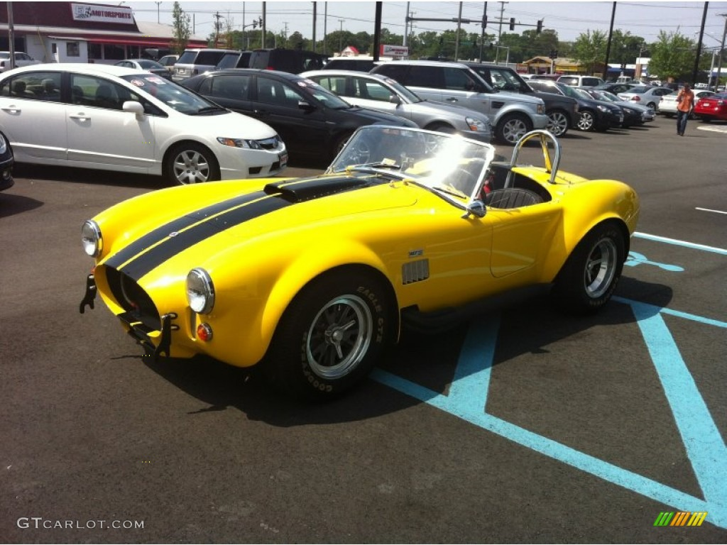 1965 Yellow Shelby Cobra Superformance Roadster #64611523 ...