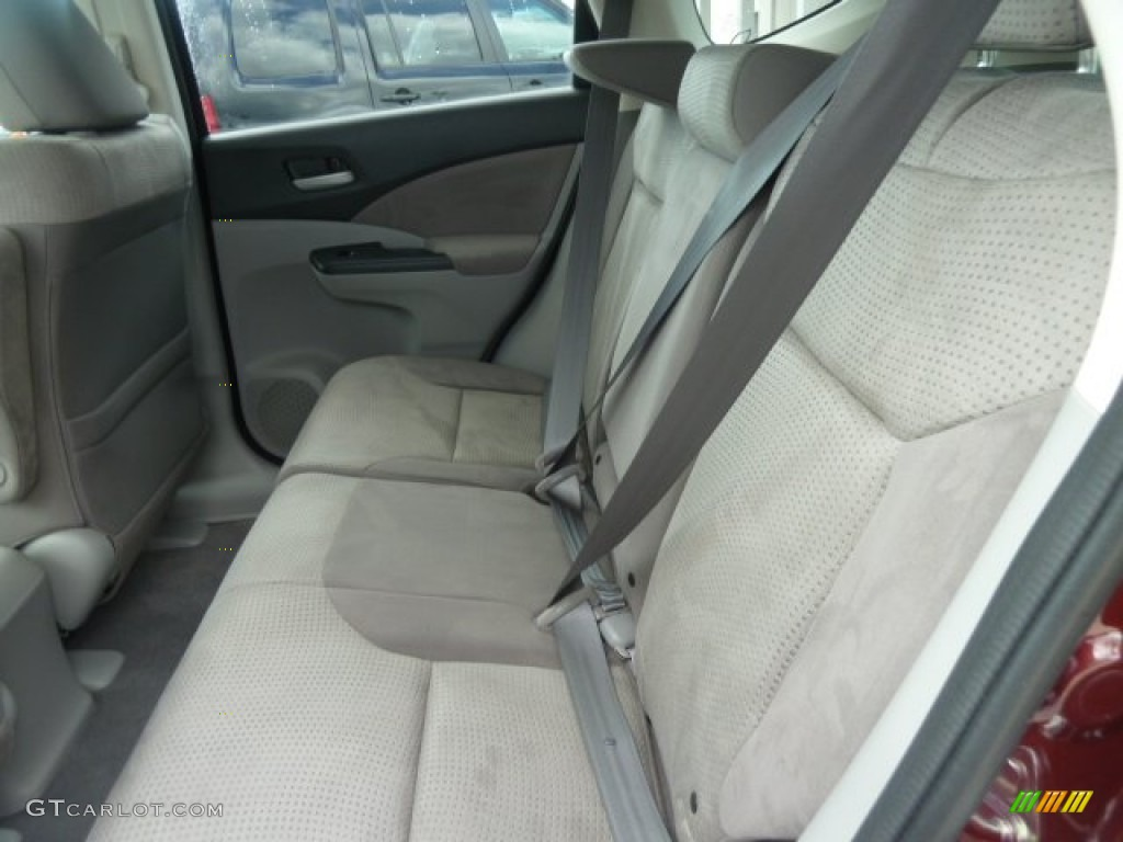 2012 CR-V EX 4WD - Basque Red Pearl II / Gray photo #11