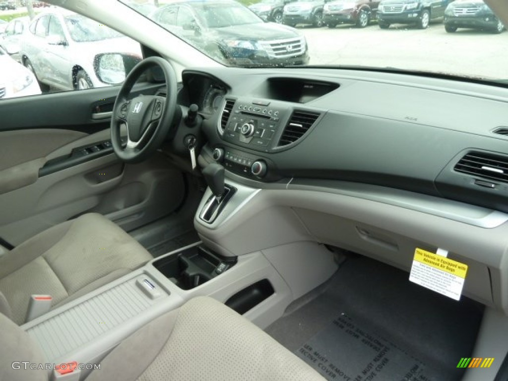 2012 CR-V EX 4WD - Basque Red Pearl II / Gray photo #17