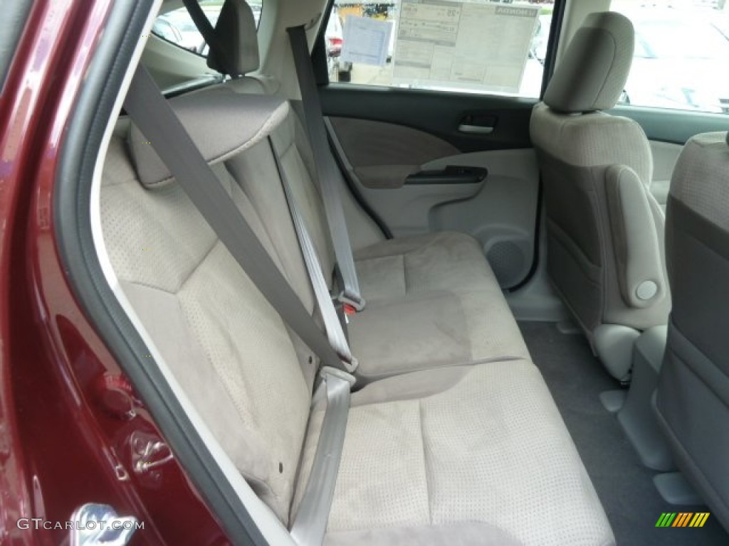 2012 CR-V EX 4WD - Basque Red Pearl II / Gray photo #19