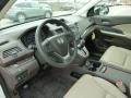 2012 White Diamond Pearl Honda CR-V EX-L 4WD  photo #15