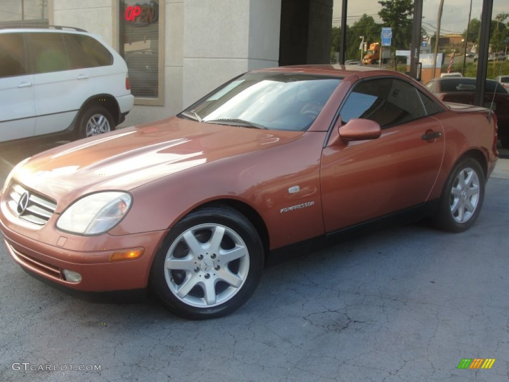 2000 designo copper metallic mercedes benz slk 230 for Mercedes benz slk230 kompressor