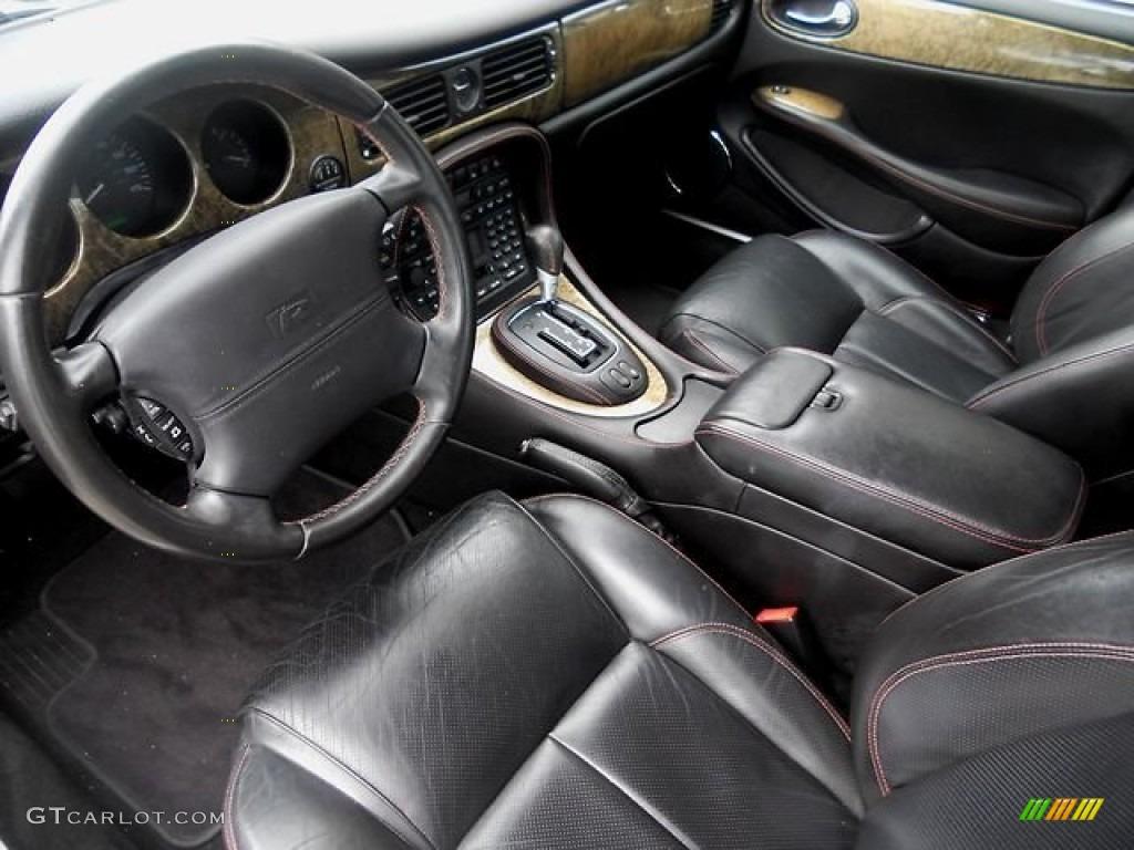 2002 Jaguar XJ XJR Interior Color Photos