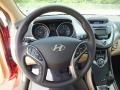 Beige Steering Wheel Photo for 2013 Hyundai Elantra #64670870