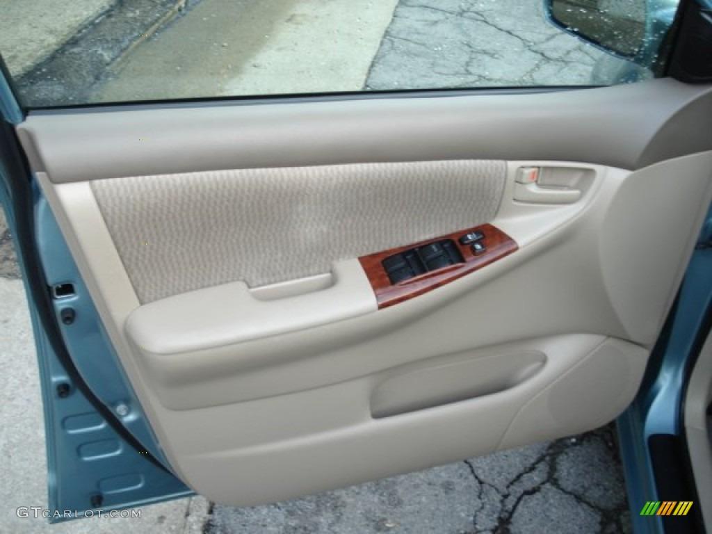 2006 Toyota Corolla Ce Stone Door Panel Photo 64673651