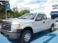 Ingot Silver Metallic 2012 Ford F150 XL SuperCab