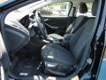 2012 Tuxedo Black Metallic Ford Focus SEL Sedan  photo #5