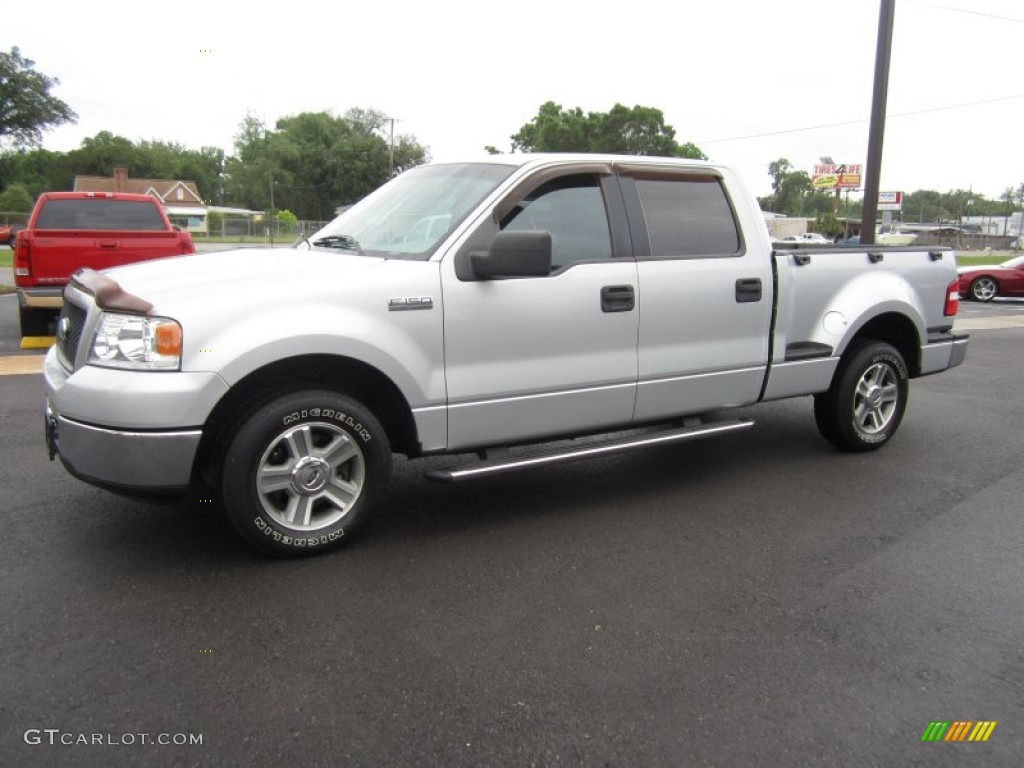 silver metallic 2006 ford f150 xlt supercrew exterior. Black Bedroom Furniture Sets. Home Design Ideas