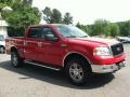 Bright Red 2005 Ford F150 XLT SuperCrew 4x4