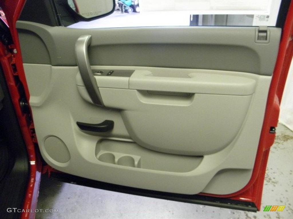 2012 Silverado 1500 LS Regular Cab - Victory Red / Dark Titanium photo #6