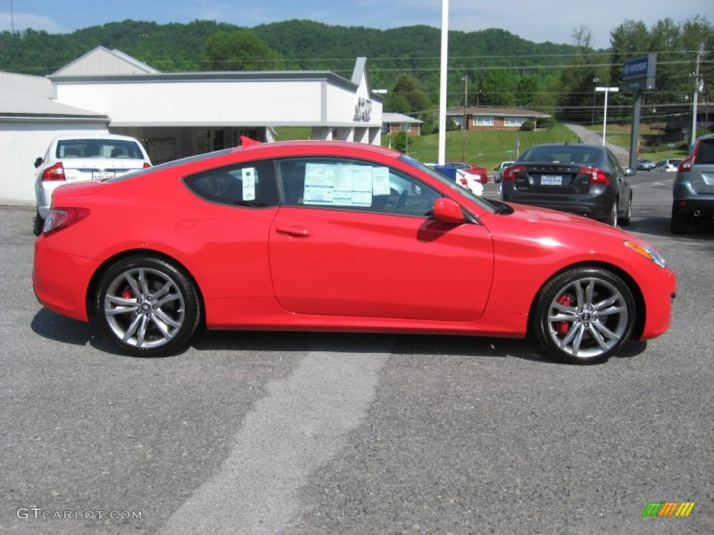 tsukuba red 2012 hyundai genesis coupe 3 8 r spec exterior photo 64687574. Black Bedroom Furniture Sets. Home Design Ideas
