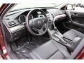 Ebony 2009 Acura TSX Interiors
