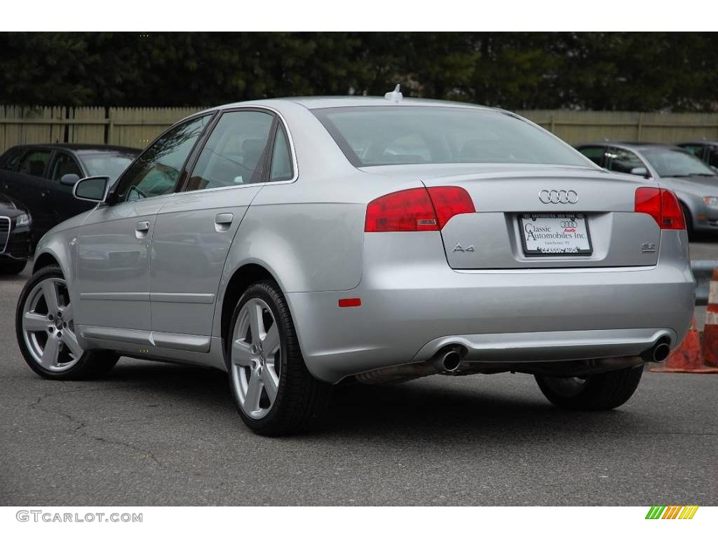 Audi 2008 audi a4 horsepower : 2008 Light Silver Metallic Audi A4 3.2 Quattro S-Line Sedan ...