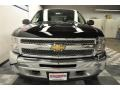 2012 Black Chevrolet Silverado 1500 LS Crew Cab 4x4  photo #18