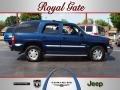 Indigo Blue Metallic 2002 GMC Yukon SLE 4x4
