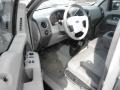 Silver Metallic - F150 XLT Regular Cab 4x4 Photo No. 7