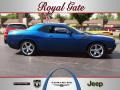 2009 Deep Water Blue Pearl Coat Dodge Challenger R/T #64663242