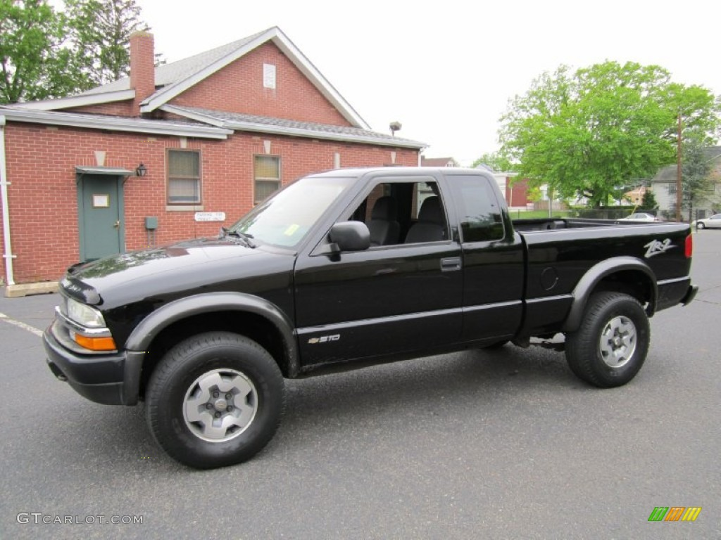 2003 s10 zr2 extended cab 4x4 black onyx graphite photo 3