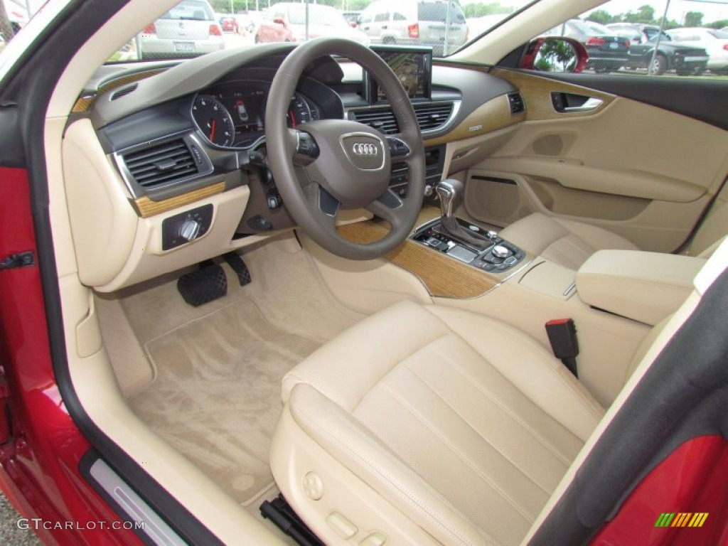 velvet beige interior 2012 audi a7 3 0t quattro premium photo 64725984. Black Bedroom Furniture Sets. Home Design Ideas
