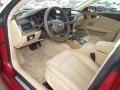 Velvet Beige 2012 Audi A7 Interiors