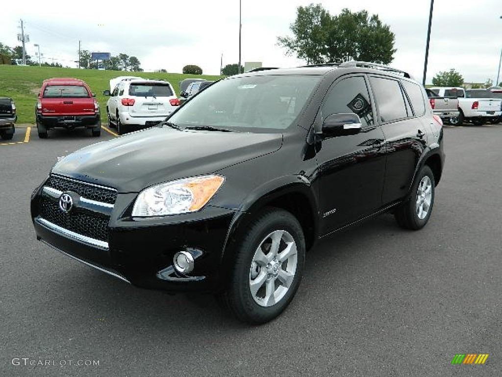 Black 2012 Toyota Rav4 Limited Exterior Photo 64734597