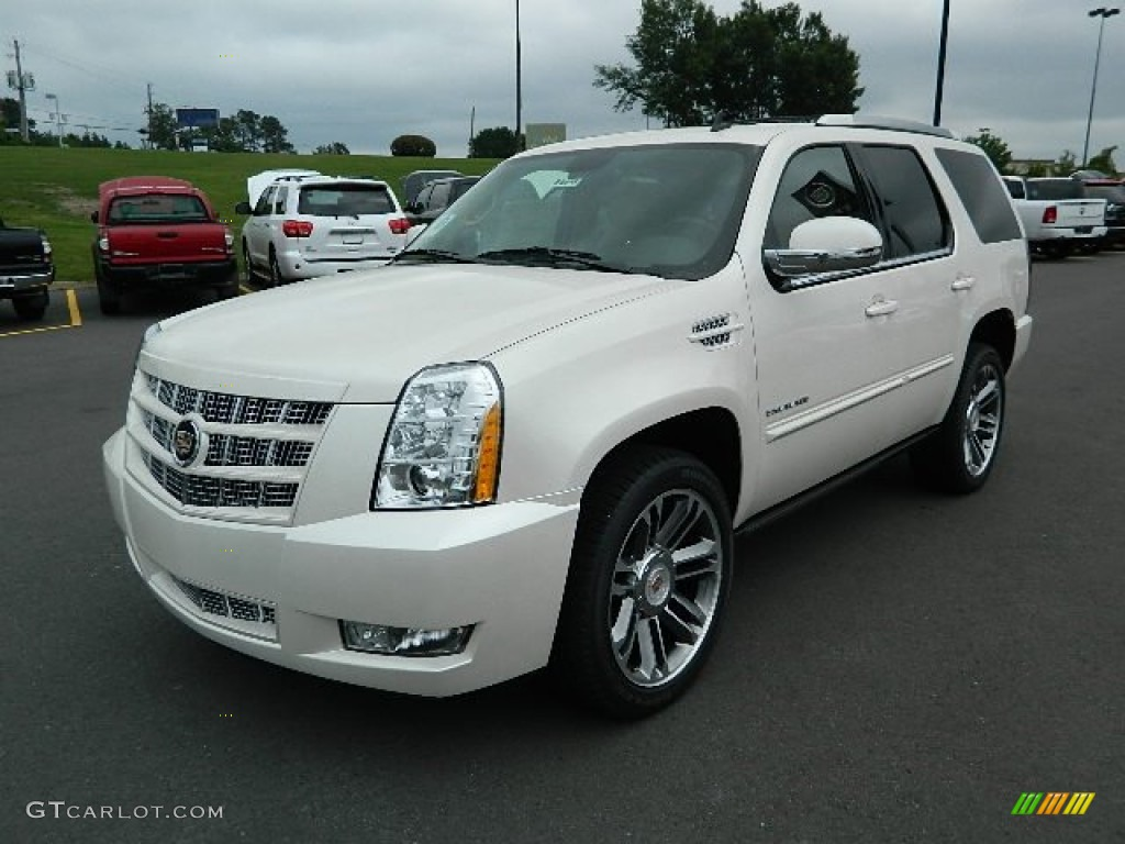 white diamond tricoat 2012 cadillac escalade premium awd. Black Bedroom Furniture Sets. Home Design Ideas