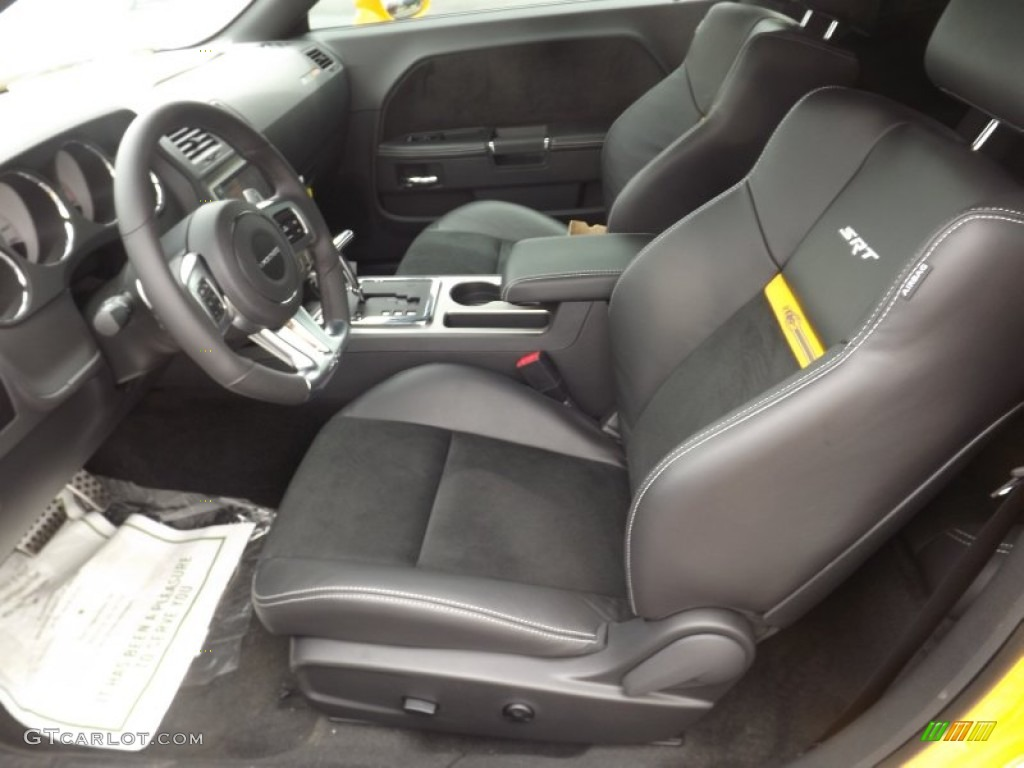 2012 Dodge Challenger Srt8 Yellow Jacket Interior Photo 64735674
