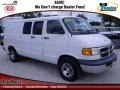 Bright White 2002 Dodge Ram Van Gallery
