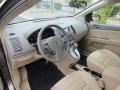 2007 Nissan Sentra Beige Interior Dashboard Photo