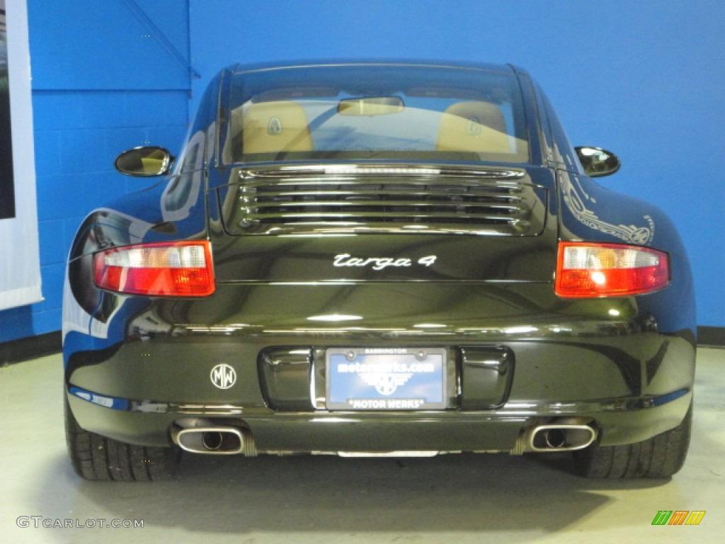 2007 Dark Olive Metallic Porsche 911 Targa 4 64663068