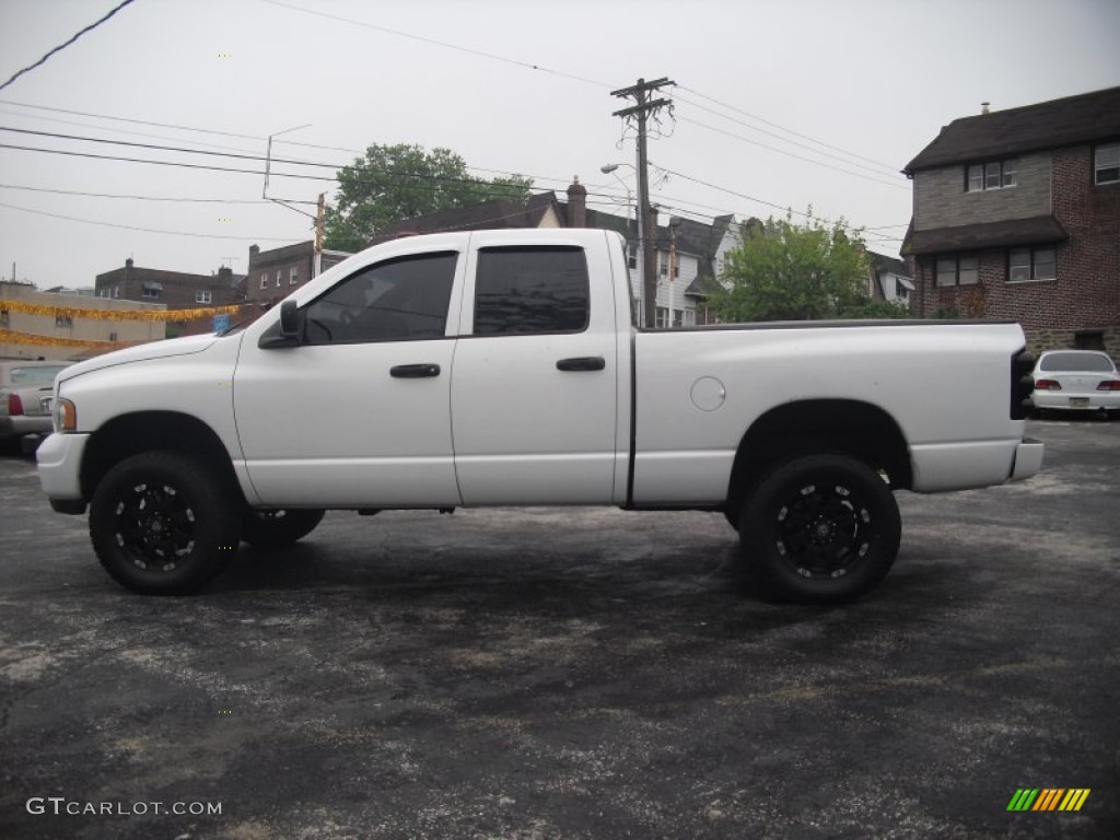 2002 bright white dodge ram 1500 slt quad cab 4x4 64663980 photo 9 car color. Black Bedroom Furniture Sets. Home Design Ideas