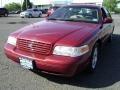 2003 Matador Red Metallic Ford Crown Victoria LX #64663029