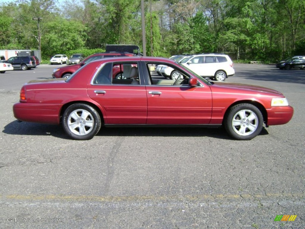 Matador red metallic 2003 ford crown victoria lx exterior for Crown motors ford redding