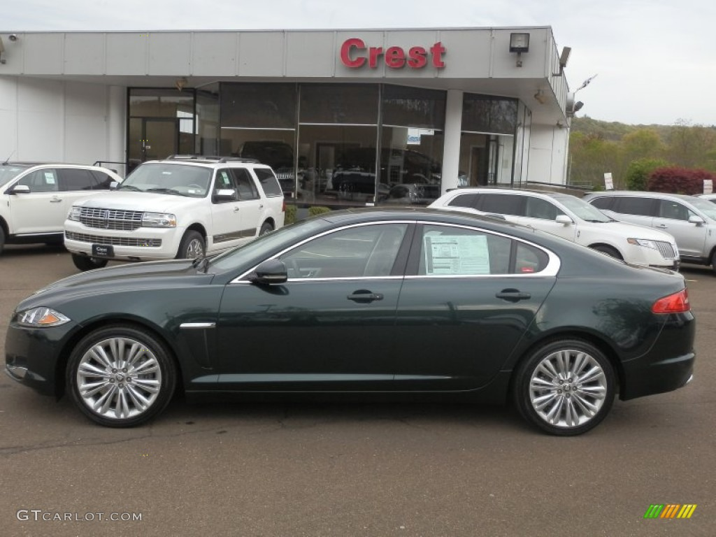 Jaguar Car British Racing Green