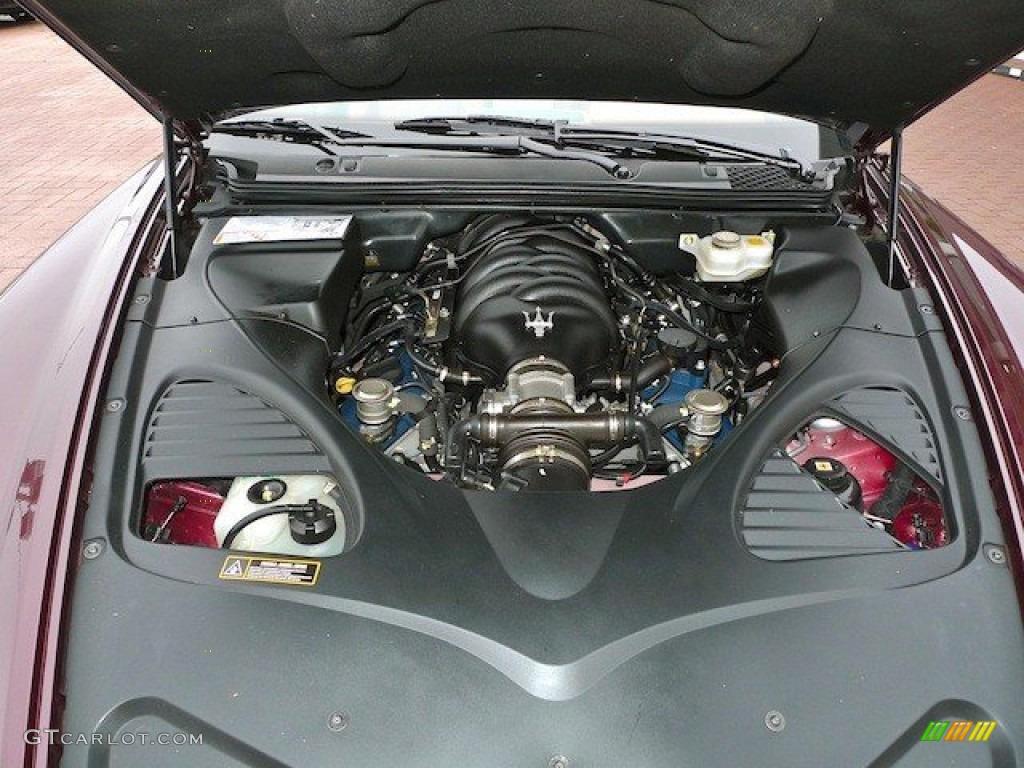 2007 Maserati Quattroporte Standard Quattroporte Model Engine Photos ... Maserati Quattroporte 2013 Interior