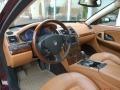 Cuoio Sella 2007 Maserati Quattroporte Interiors