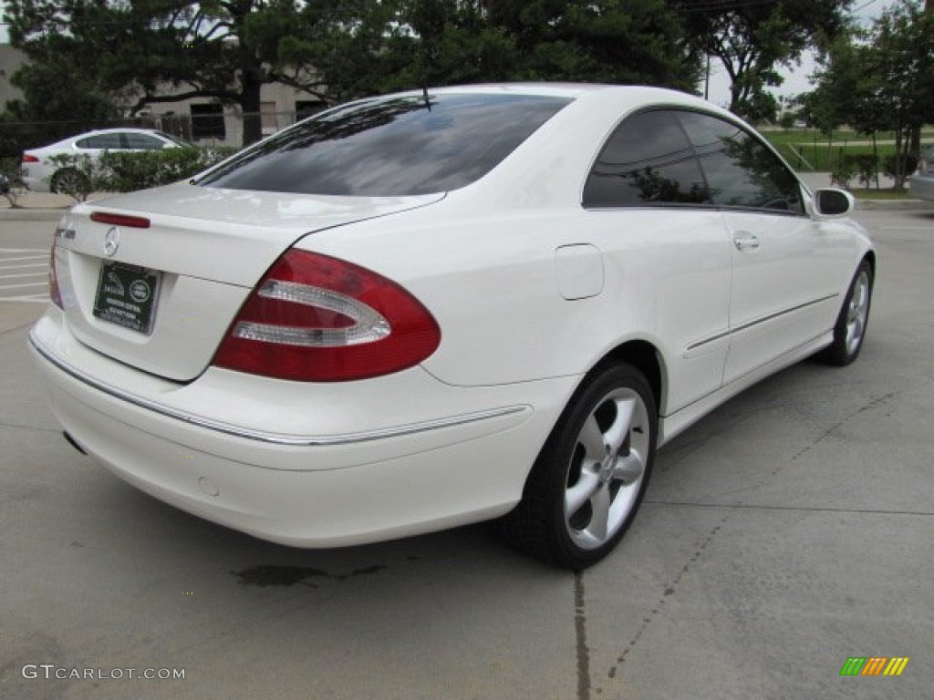 2004 alabaster white mercedes benz clk 320 coupe 64664529 for 2004 mercedes benz clk500 coupe