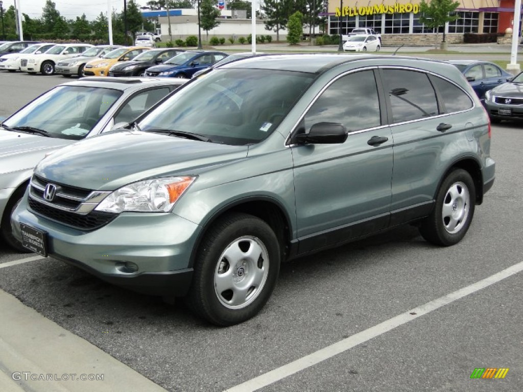 2010 Opal Sage Metallic Honda Cr V Lx 64664517 Photo 4 Gtcarlot Com Car Color Galleries