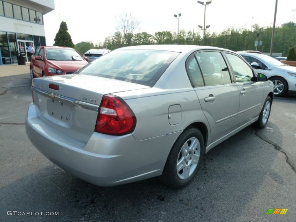 2007 Malibu LT Sedan - Silverstone Metallic / Ebony Black photo #3
