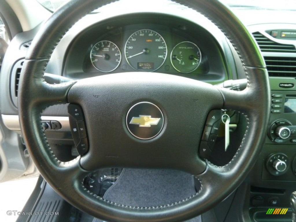 2007 Malibu LT Sedan - Silverstone Metallic / Ebony Black photo #17