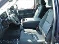 2012 Imperial Blue Metallic Chevrolet Silverado 1500 LT Crew Cab 4x4  photo #11