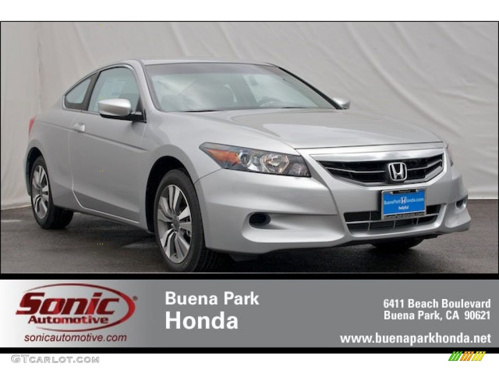 2012 alabaster silver metallic honda accord lx s coupe 64663702 car color. Black Bedroom Furniture Sets. Home Design Ideas