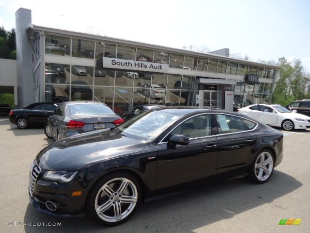 2012 Brilliant Black Audi A7 3.0T quattro Premium ...