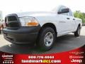 2012 Bright White Dodge Ram 1500 ST Quad Cab  photo #1