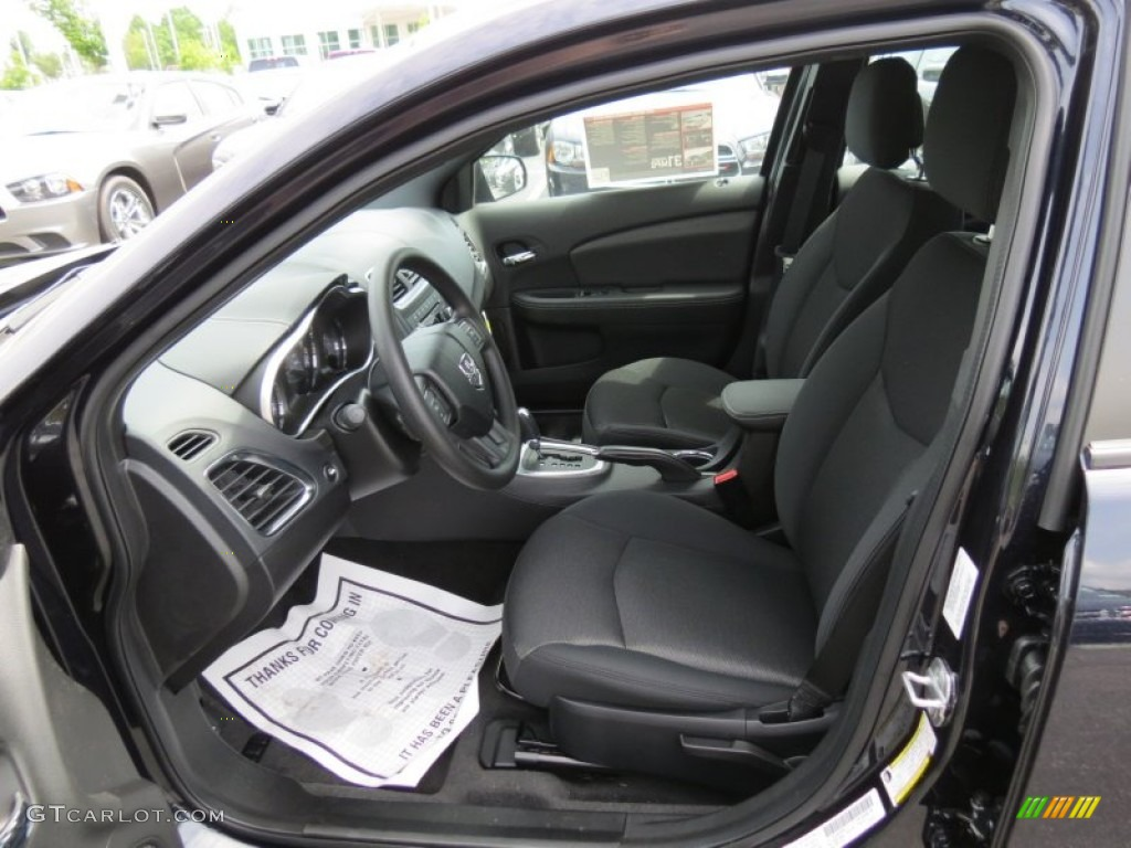 black interior 2012 dodge avenger se v6 photo 64813853. Black Bedroom Furniture Sets. Home Design Ideas