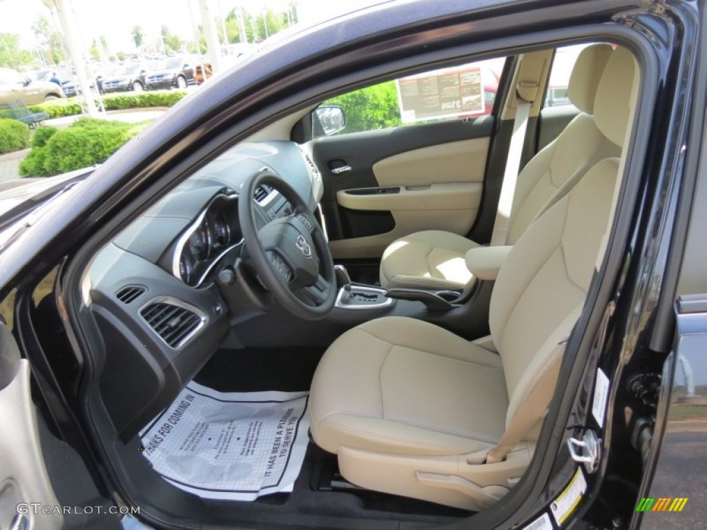 black interior 2012 dodge avenger se v6 photo 64814048. Black Bedroom Furniture Sets. Home Design Ideas