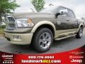 2012 Sagebrush Pearl Dodge Ram 1500 Laramie Longhorn Crew Cab  photo #1