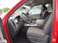2012 Flame Red Dodge Ram 1500 Big Horn Quad Cab  photo #7