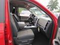 2012 Flame Red Dodge Ram 1500 Big Horn Quad Cab  photo #9