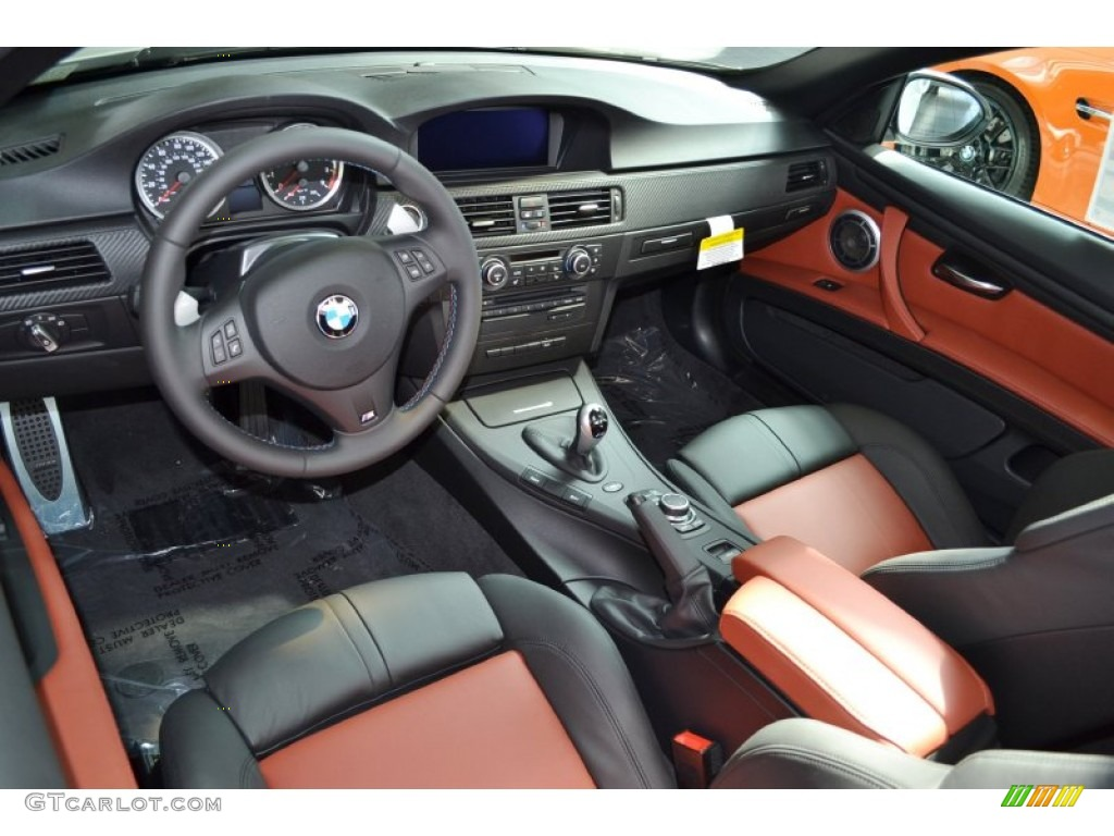 Fox Red Black Black Interior 2012 Bmw M3 Convertible Photo 64847824